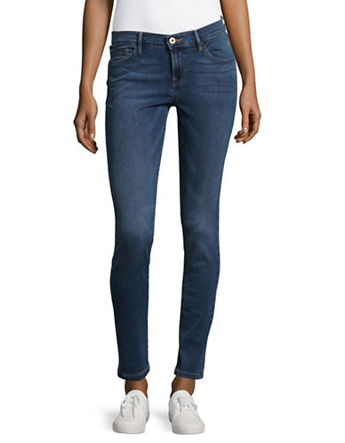 Tommy Hilfiger Greenwich Mid-Rise Skinny Jeans-BRIGHT BLUE-14