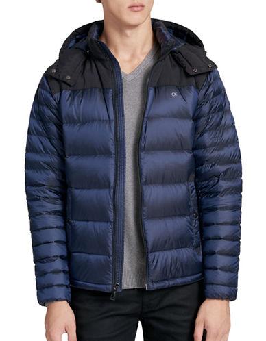 Calvin Klein Premium Down Jacket-DARK BLUE-Large