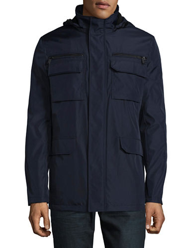 Calvin Klein Essential Four-Pocket Jacket-BLUE-Medium