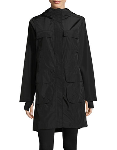 Calvin Klein Performance Spectator Water-Repellent Jacket-BLACK-Medium