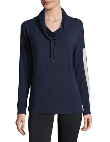 Calvin Klein Performance Cozy Pullover-BLUE-Medium