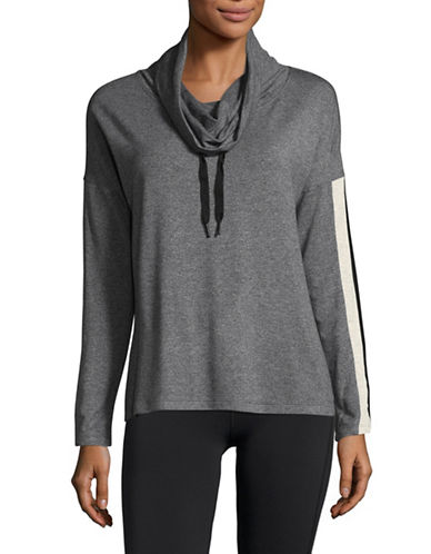 Calvin Klein Performance Cozy Pullover-GREY-Small