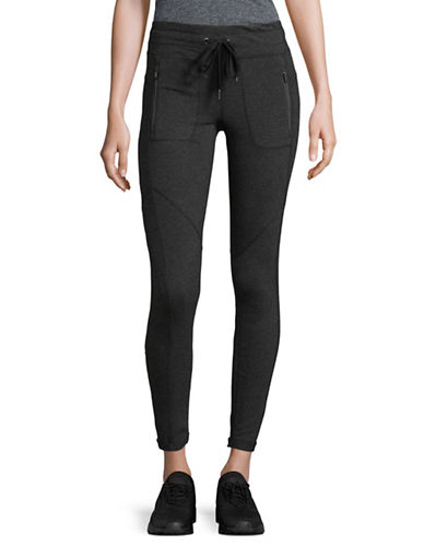 Calvin Klein Performance Performance Stretch Leggings-SLATE HEATHER-X-Large 89402070_SLATE HEATHER_X-Large