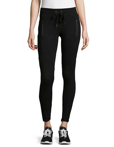 Calvin Klein Performance Performance Stretch Leggings-BLACK-Small 89402064_BLACK_Small