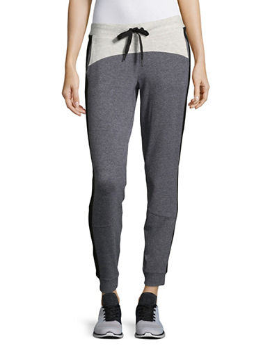 Calvin Klein Performance Colourblocked Jogger Pants-GREY-Large