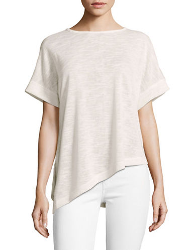 Tommy Hilfiger Dolman Sleeve Sweater-WHITE-X-Small