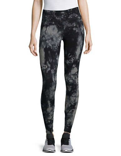 Calvin Klein Performance Printed Stretch Performance Tights-GREY-Small 89529791_GREY_Small