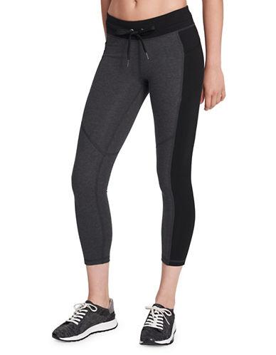Calvin Klein Performance Colourblock Drawstring Leggings-GREY-Medium 89738297_GREY_Medium