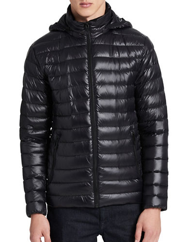 Calvin Klein Packable Down Jacket-BLACK-Small