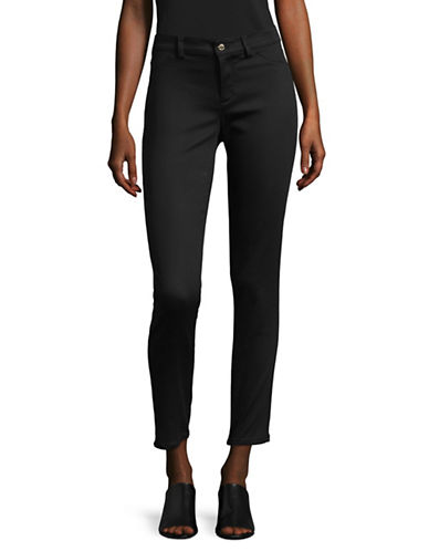 Calvin Klein Stretch Twill Pants-BLACK-2