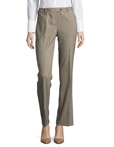 Calvin Klein Birdseye Woven Pants-KHAKI-10