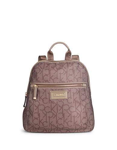 Calvin Klein Belfast Dot Mini Backpack-PORCINI-One Size
