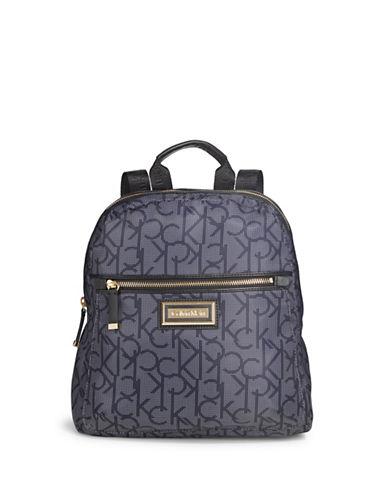 Calvin Klein Belfast Dot Mini Backpack-GREY-One Size