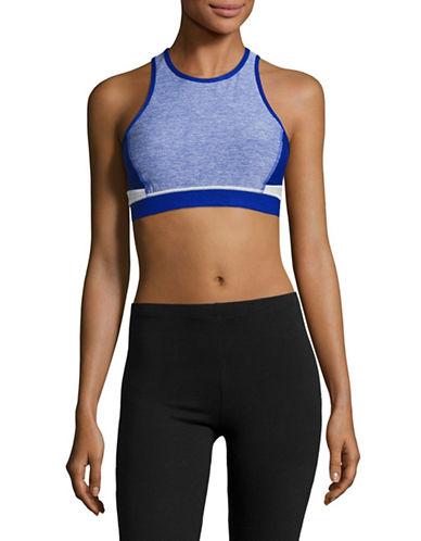 Calvin Klein Performance Colourblocked Keyhole Sports Bra-SAPPHIRE COMBO-Medium 89280284_SAPPHIRE COMBO_Medium