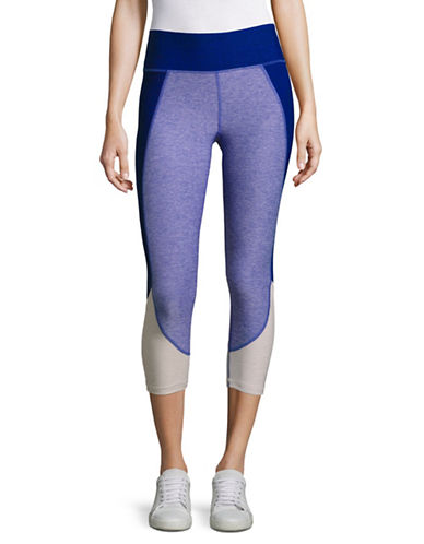 Calvin Klein Performance High Waist Colourblock Crop Tights-SAPPHIRE COMBO-Large 89280165_SAPPHIRE COMBO_Large