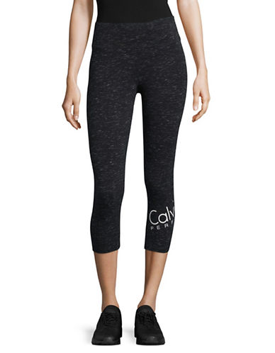Calvin Klein Performance Cropped Performance Leggings-GREY-Small 89323747_GREY_Small