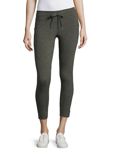 Calvin Klein Performance Cropped Jogging Pants-GREY-Large 89323762_GREY_Large