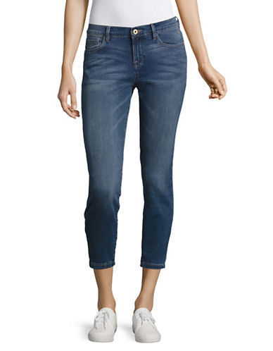 Tommy Hilfiger Greenwich Mid-Rise Crop Skinny Jeans-BLUE-4