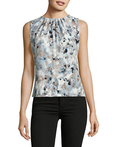 Calvin Klein Printed Sleeveless Cami-MULTI-Medium 89094867_MULTI_Medium