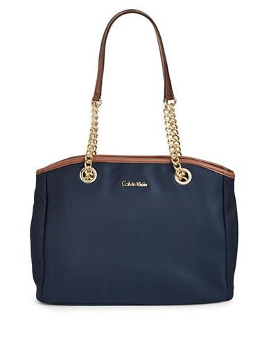 Calvin Klein Florence Nylon Tote-NAVY BLUE-One Size