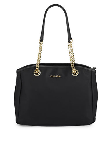 Calvin Klein Florence Nylon Tote-BLACK-One Size 89160136_BLACK_One Size