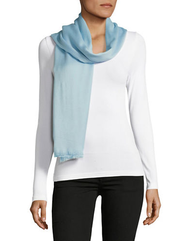 Calvin Klein Solid Scarf-BLUE-One Size