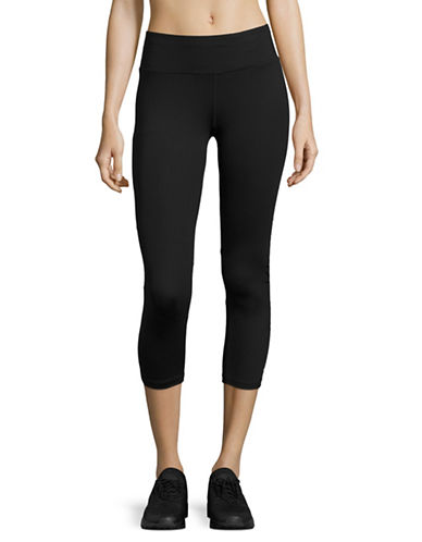 Calvin Klein Performance Mesh-Panel Logo Capri Leggings-BLACK COMBO-Large 89151156_BLACK COMBO_Large