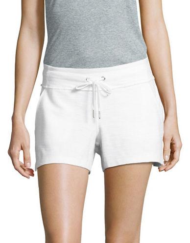 Calvin Klein Performance Terry Shorts-WHITE-Large 89184945_WHITE_Large