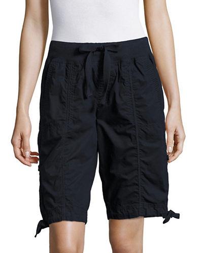 Calvin Klein Performance Quick-Dry Cotton Cargo Shorts-NAVY-Medium 89184936_NAVY_Medium
