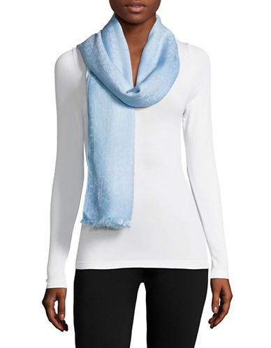Calvin Klein Dip Dye Logo Scarf-SERENE-One Size