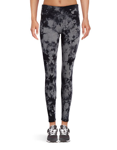 Calvin Klein Performance Tie-Dye Leggings-HEATHER GREY COMBO-X-Large 88869697_HEATHER GREY COMBO_X-Large