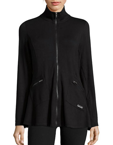 Calvin Klein Performance Stretch Zip-Up Jacket-BLACK-X-Large 88864793_BLACK_X-Large