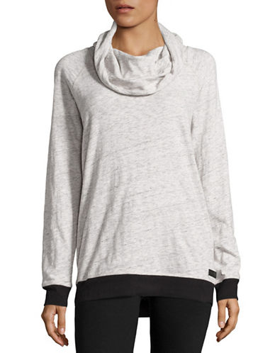 Calvin Klein Performance Performance Funnel Neck Sweater-HEATHER FOG-Medium 88864868_HEATHER FOG_Medium