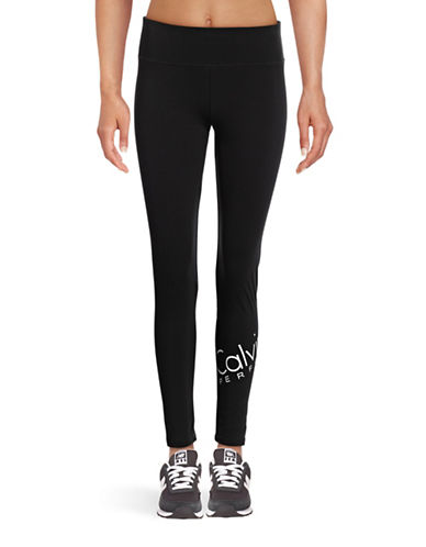 Calvin Klein Performance Quick-Dry Logo Leggings-BLACK COMBO-X-Large 88864829_BLACK COMBO_X-Large