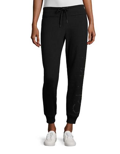 Calvin Klein Performance Raglan Sleeve Logo Sweatshirt-BLACK-Large 88875327_BLACK_Large