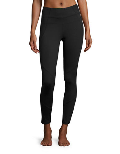 Calvin Klein Performance High Waist Compression Leggings-BLACK-Medium 88866902_BLACK_Medium