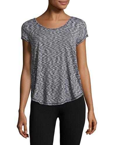 Calvin Klein Performance Lattice Back T-Shirt-BLACK COMBO-Small 89093858_BLACK COMBO_Small