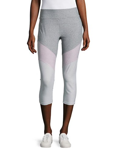Calvin Klein Performance Colourblock Compression Capri Leggings-MULTI-Medium 89093780_MULTI_Medium