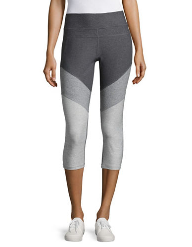 Calvin Klein Performance Colourblock Compression Capri Leggings-QUARTZ COMBO-X-Large 89093787_QUARTZ COMBO_X-Large