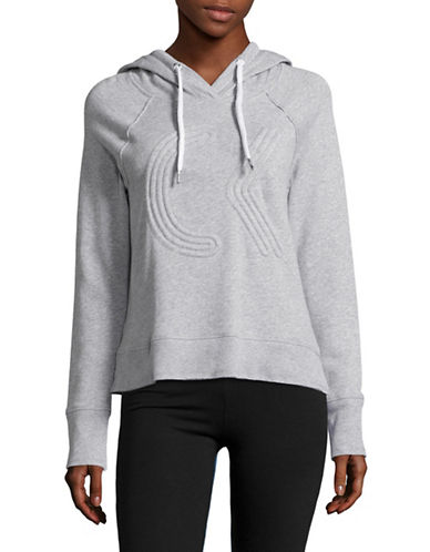 Calvin Klein Performance Quick-Dry Stripe-Stitch Dolman Top-PURPLE HEATHER GREY-X-Large 89093879_PURPLE HEATHER GREY_X-Large