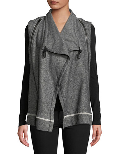Calvin Klein Performance Open-Front Vest-GREY-X-Large 89736273_GREY_X-Large