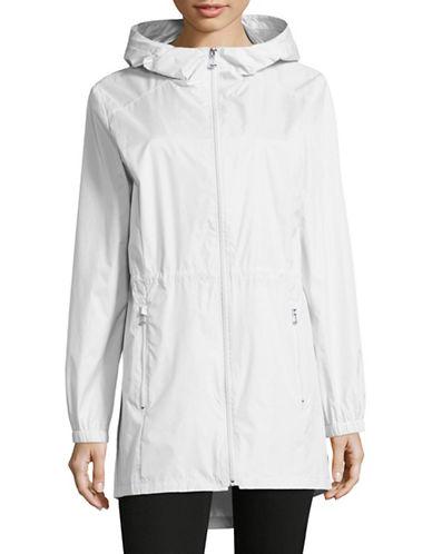 Calvin Klein Lightweight Nylon Rain Jacket-WHITE-Medium 88913672_WHITE_Medium