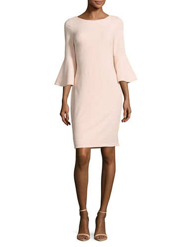Image result for CALVIN KLEIN Trumpet Sleeve Sheath Dress