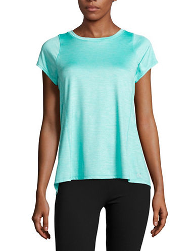 Calvin Klein Performance Marled Quick-Dry T-Shirt-BLUE RADIANCE-Small 88987989_BLUE RADIANCE_Small