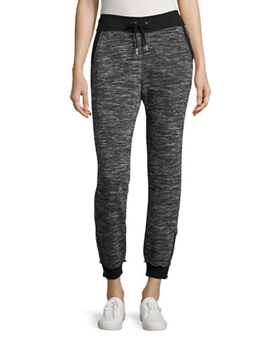 Calvin Klein Performance Snowcat Boucle Sweatpants-BLACK-Small 88731045_BLACK_Small