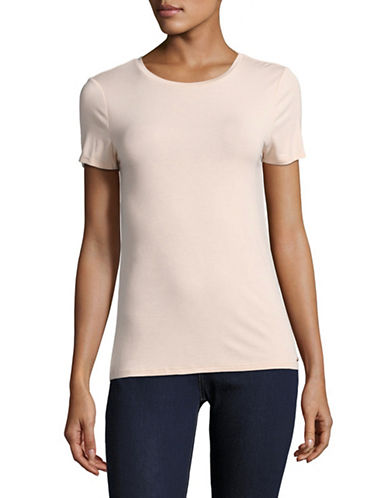 Calvin Klein Jersey Tee-PINK-X-Small 89214707_PINK_X-Small