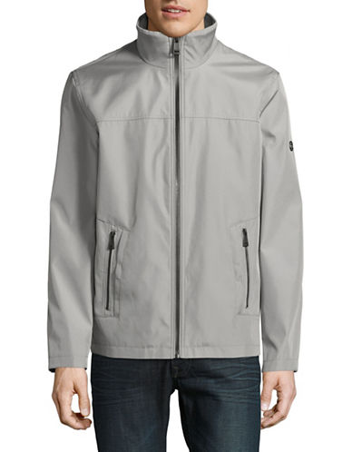 Calvin Klein Zip-Up Jacket-GREY-Small 88909176_GREY_Small