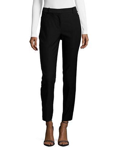 Calvin Klein Slim-Leg Pants-BLACK-6