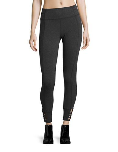 Calvin Klein Performance Printed Stretch Leggings-SLATE HEATHER-Medium 88822672_SLATE HEATHER_Medium
