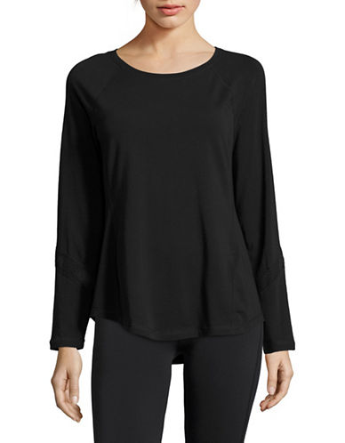 Calvin Klein Performance Long Sleeve Performance Top-BLACK-X-Large 88924074_BLACK_X-Large